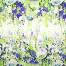Flower Garden Indigo