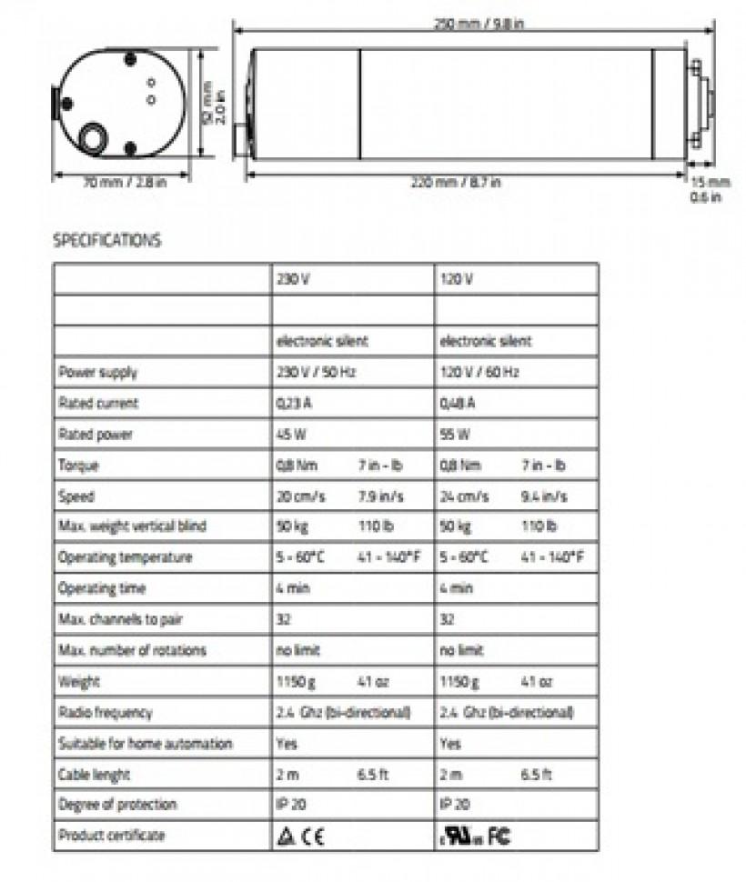 Motor pentru Perdele/Draperii